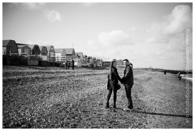 Nick and Decia pre-wedding photoshoot at Whitstable by Samantha Jones Photography 06
