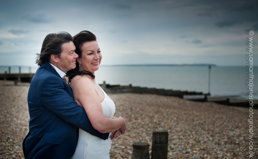 Alison and Dave married at East Quay {sneak peek}
