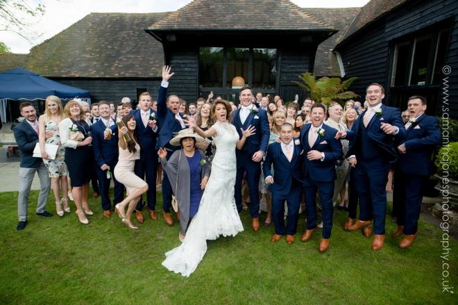 Decia and Nik wedding at Winters Barns 001