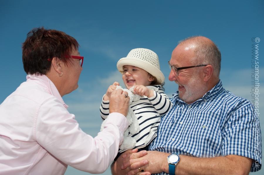 Family photoshoot at Tankerton in Kent