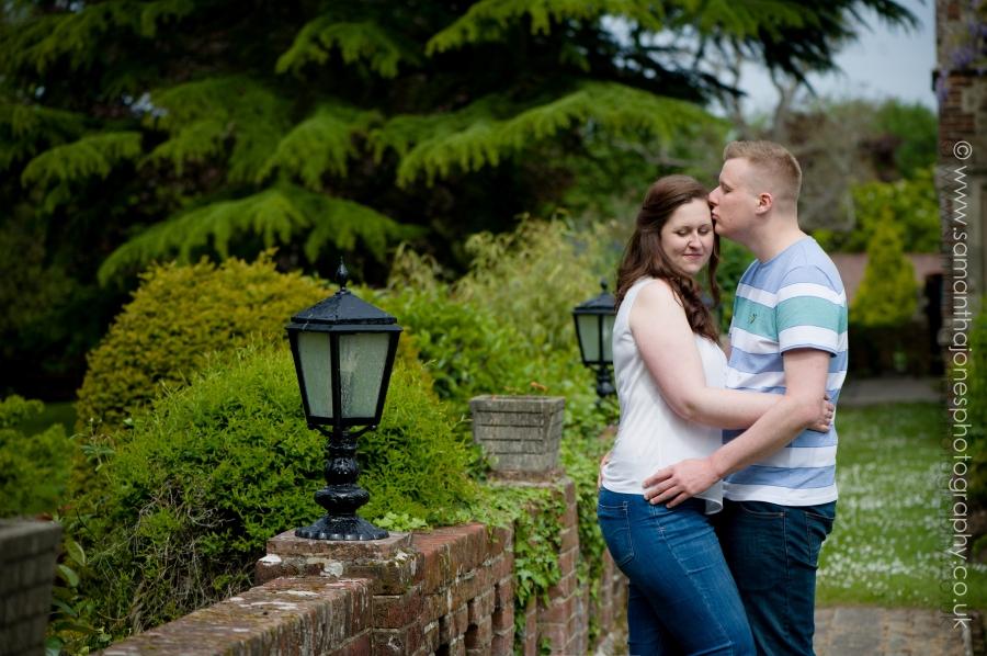 Victoria and Chris pre-wedding photoshoot at Boys Hall
