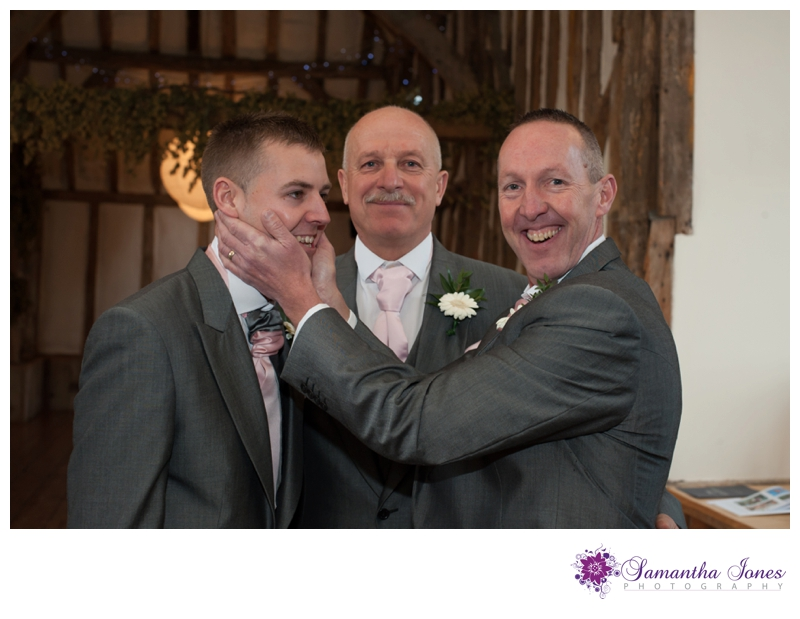 Hayley and Dominic wedding at Winters Barns by Samantha Jones Photography 19