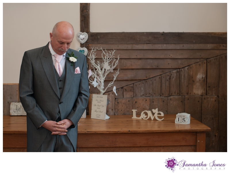 Hayley and Dominic wedding at Winters Barns by Samantha Jones Photography 20