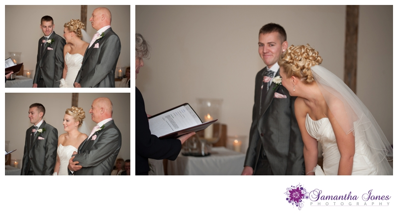 Hayley and Dominic wedding at Winters Barns by Samantha Jones Photography 23