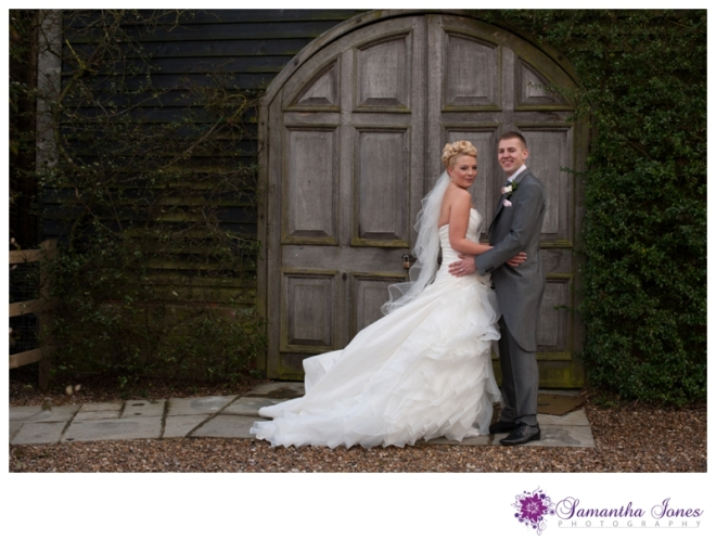 Hayley and Dominic wedding at Winters Barns by Samantha Jones Photography