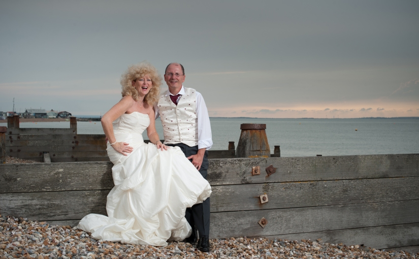 Lee and Geoff and their summer wedding at Whitstable Castle – the story of their day…