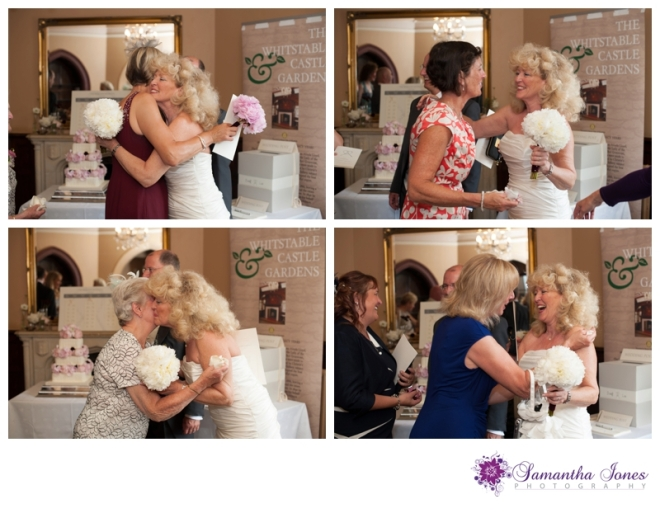 Lee and Geoff wedding at Whitstable Castle by Samantha Jones Photography 11
