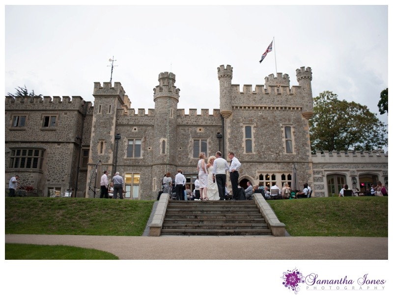 Lee and Geoff wedding at Whitstable Castle by Samantha Jones Photography 33