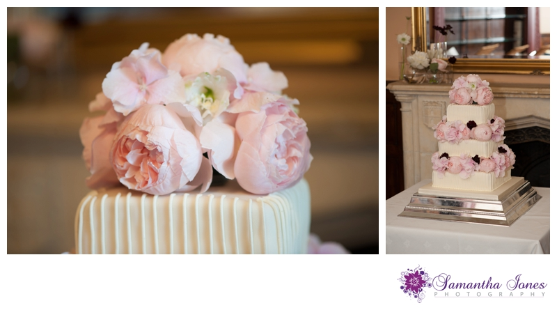 Lee and Geoff wedding at Whitstable Castle by Samantha Jones Photography cake