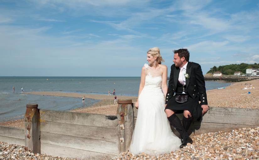 Sarah and Jon – a fabulous seaside wedding {sneakpeek}
