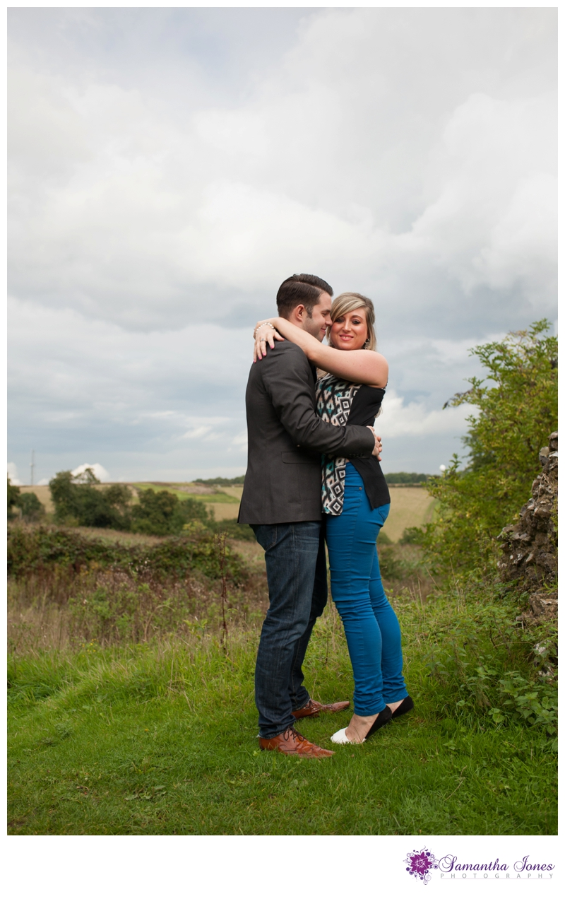 Shelley and Paul pre-wedding photoshoot at The Black Horse in Thurnham by Samantha Jones Photography 02