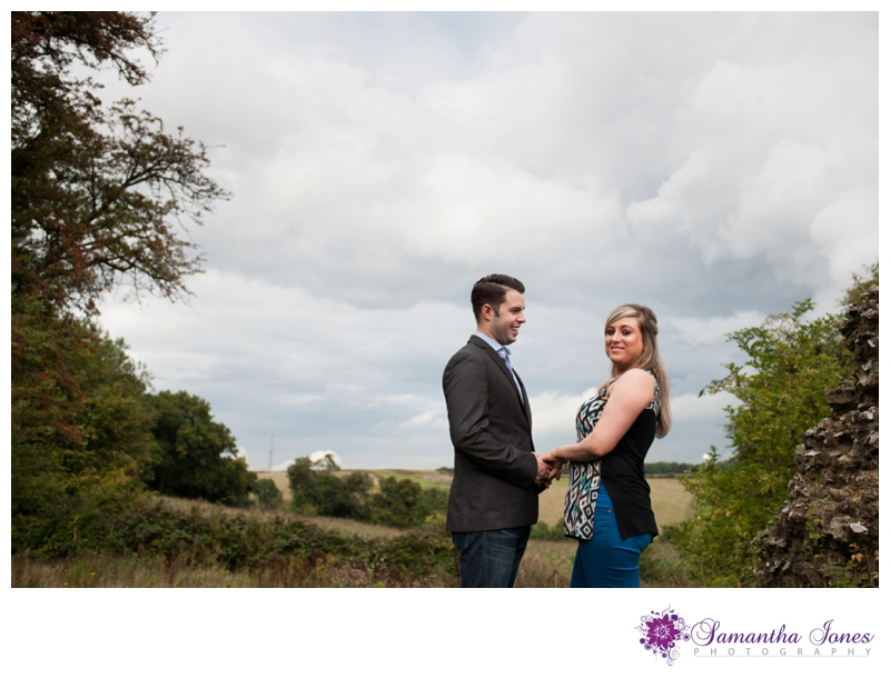 Shelley and Paul pre-wedding photoshoot at The Black Horse in Thurnham by Samantha Jones Photography