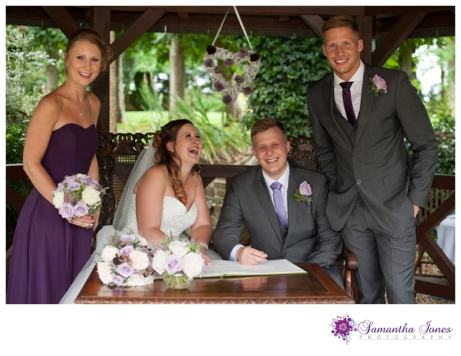 Victoria and Chris wedding at Boys Hall by Samantha Jones Photography 04