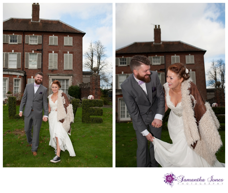 Bridal photoshoot at Kennington Hall by Samantha Jones Photography 11