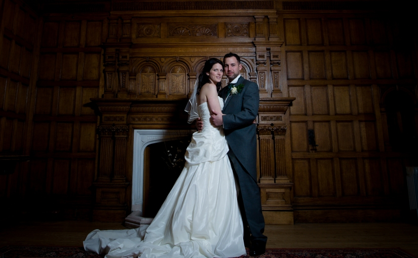 Charlotte and Jonathan – their March wedding at Oakwood House in full and Softmint moment…