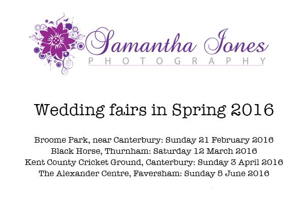 Wedding fairs – Spring2016