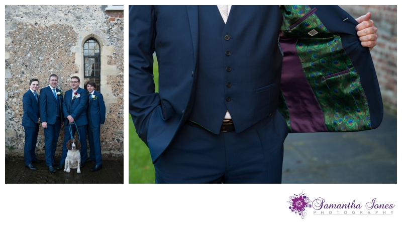Sian and Jason wedding at Howfield Manor by Samantha Jones Photography 02