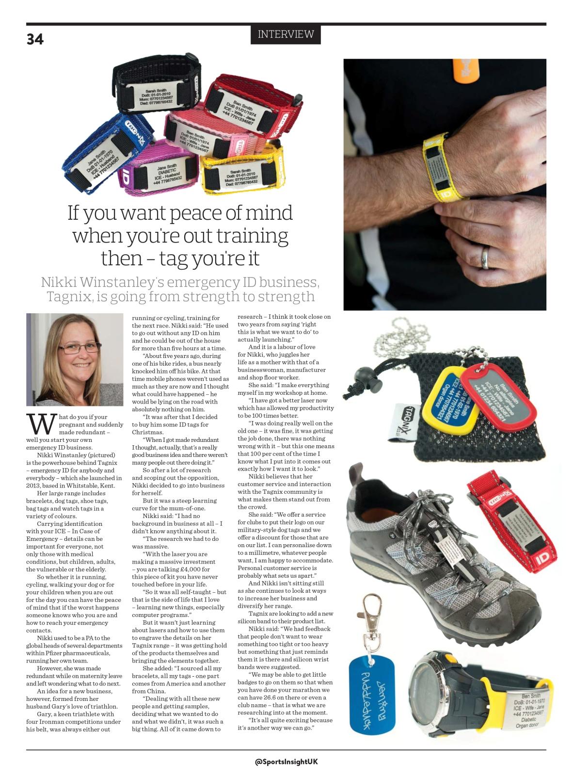Tagnix article Sports Insights magazine.jpg