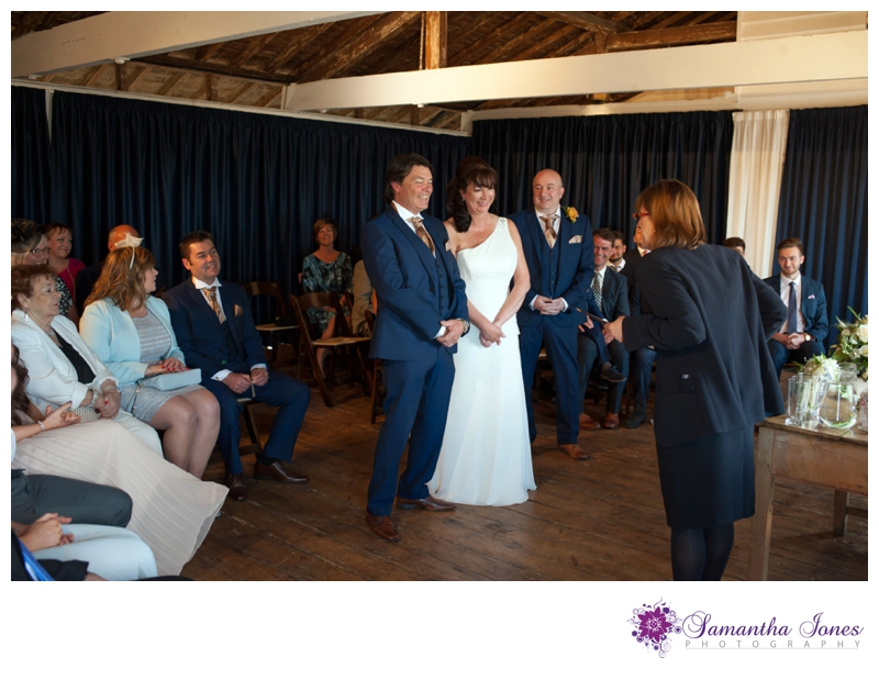 Alison and Dave wedding at East Quay by Samantha Jones Photography 11