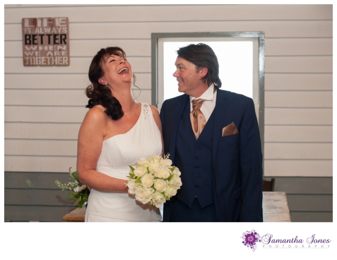 Alison and Dave wedding at East Quay by Samantha Jones Photography 16