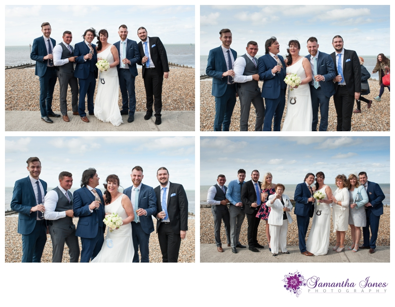 Alison and Dave wedding at East Quay by Samantha Jones Photography 23