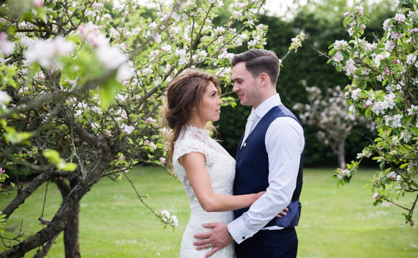 Decia and Nick – the story of their wedding at Winters Barns {partone}