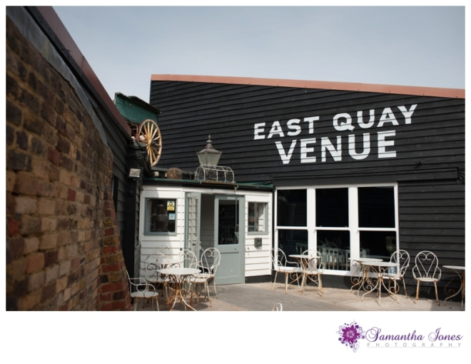 East Quay wedding venue details and new branding by Samantha Jones Photography 01