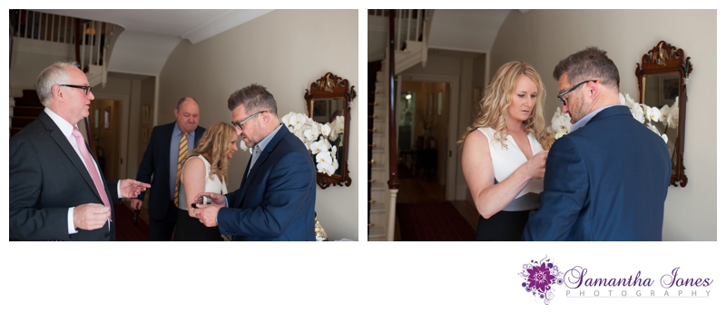 Evonne and Trevor wedding at Read's in Faversham by Samantha Jones Photography 03