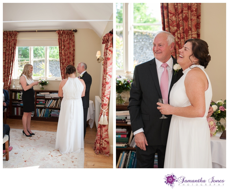 Evonne and Trevor wedding at Read's in Faversham by Samantha Jones Photography 10