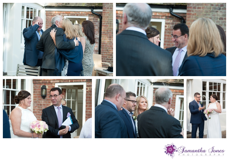 Evonne and Trevor wedding at Read's in Faversham by Samantha Jones Photography 13