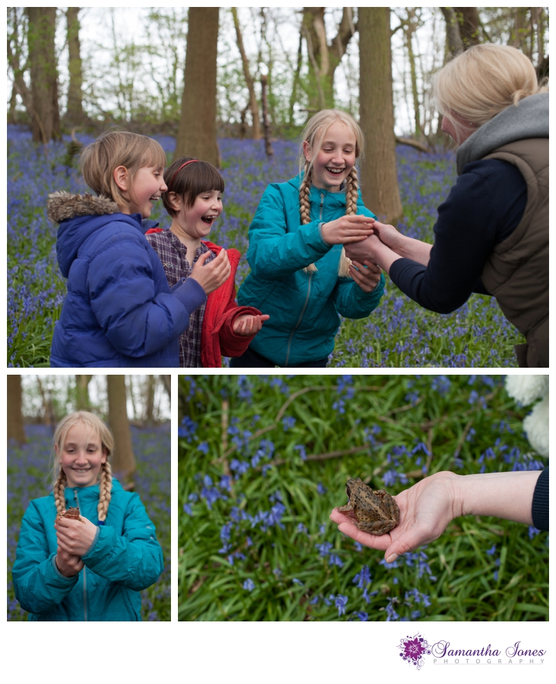 Family photoshoot in the bluebells by Samantha Jones Photography 02