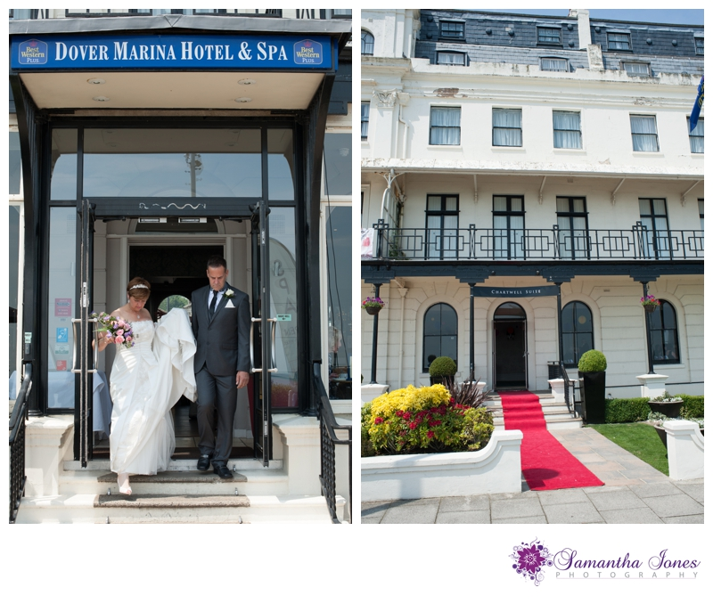 Teresa and Allan wedding at the Dover Marina Hotel by Samantha Jones Photography 10