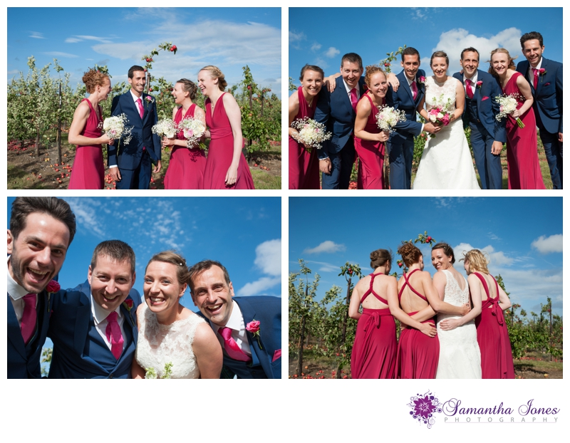 Rachel and Michael wedding at Brogdale by Samantha Jones Photography 11