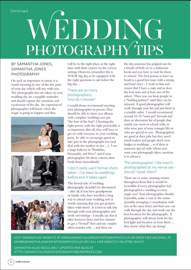 wedding-photography-tips-in-east-kent-lifestyle-magazine