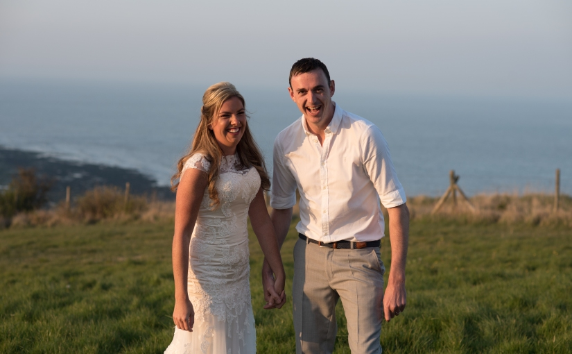 From the Dominican Republic to Deal and the sun still shone – Hayley and Sam's weddingreception