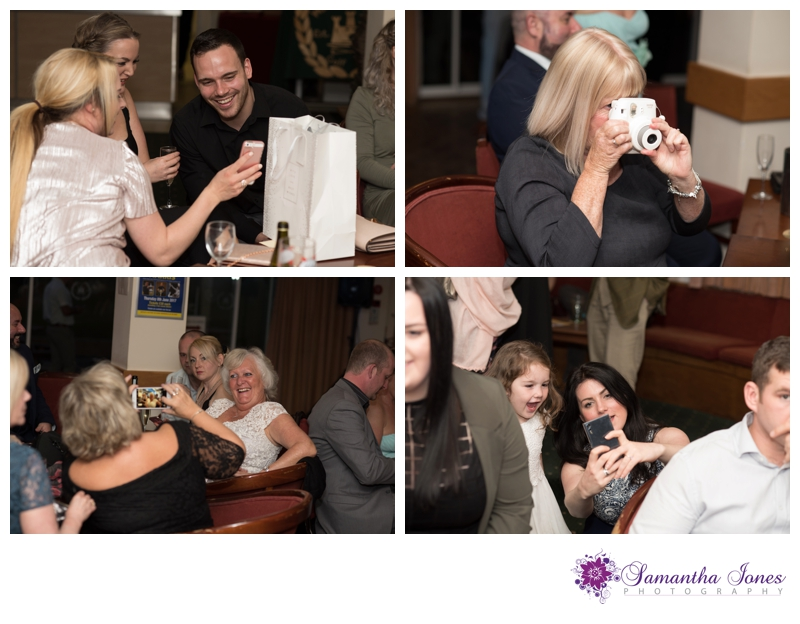 Hayley and Sam wedding reception by Samantha Jones Photography 15