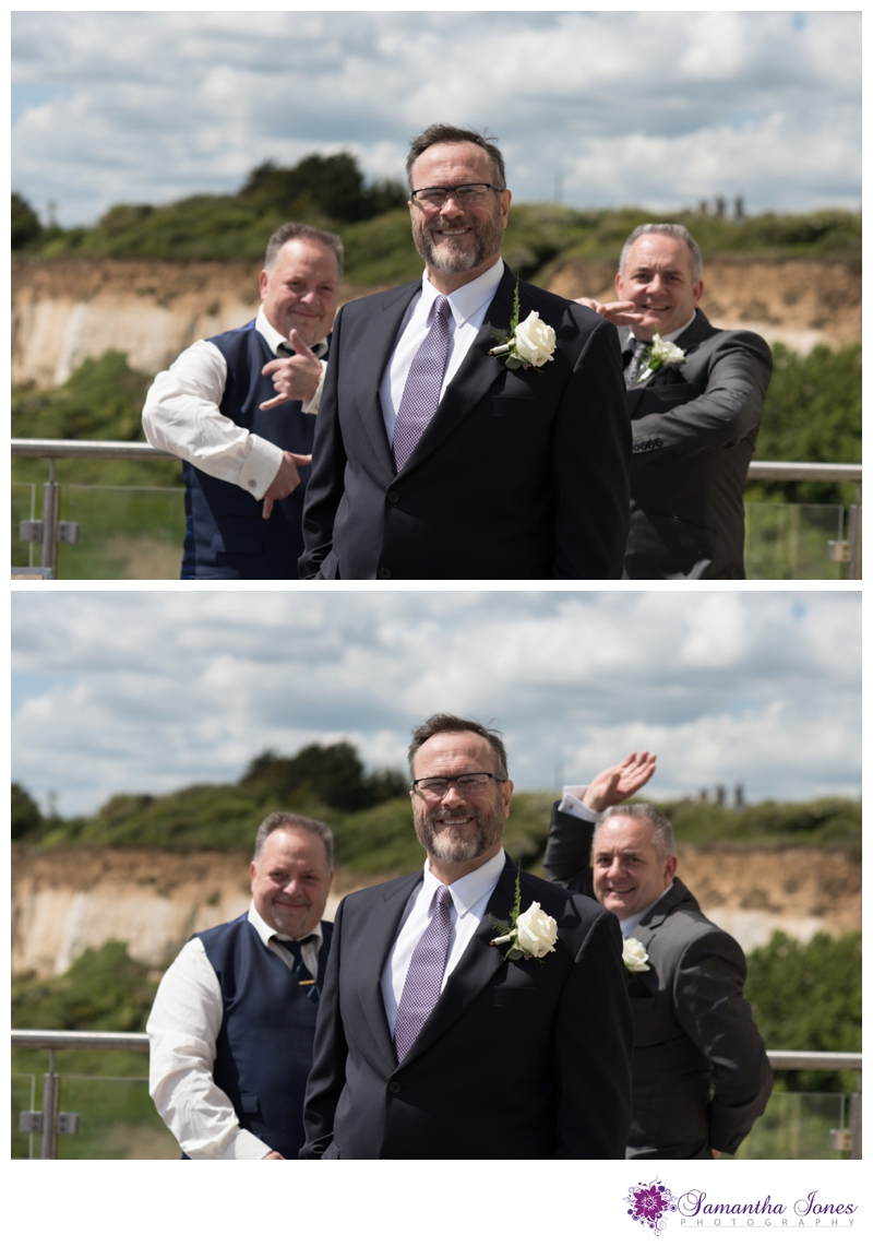 Lisa and Robert married at Pegwell Bay Hotel by Samantha Jones Photography 02