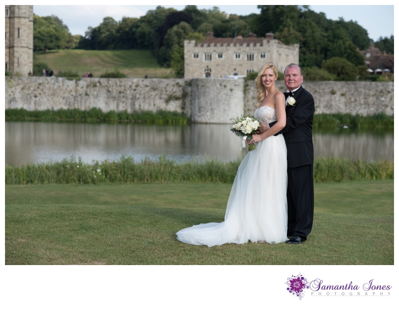 Heather and Phillip married at Leeds Castle by Samantha Jones Photography 12