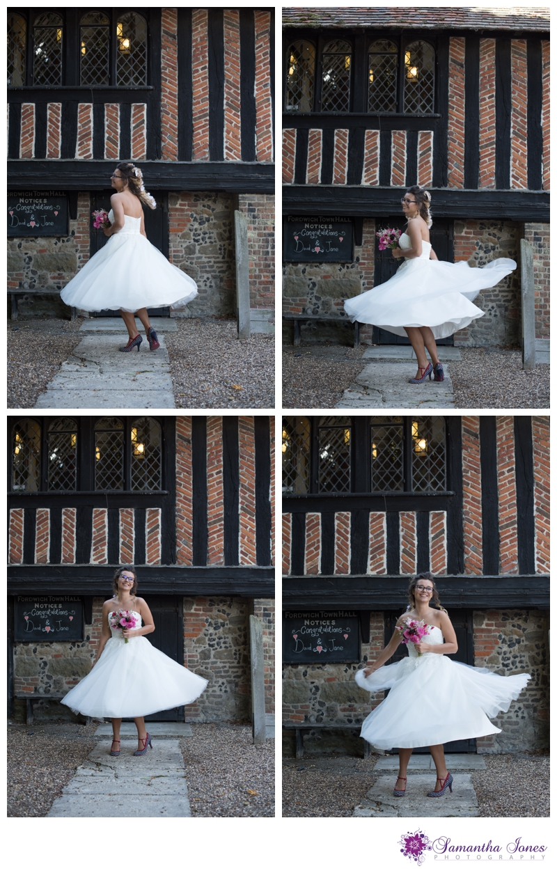 Styled bridal photoshoot at Fordwich Town Hall by Samantha Jones Photography 12
