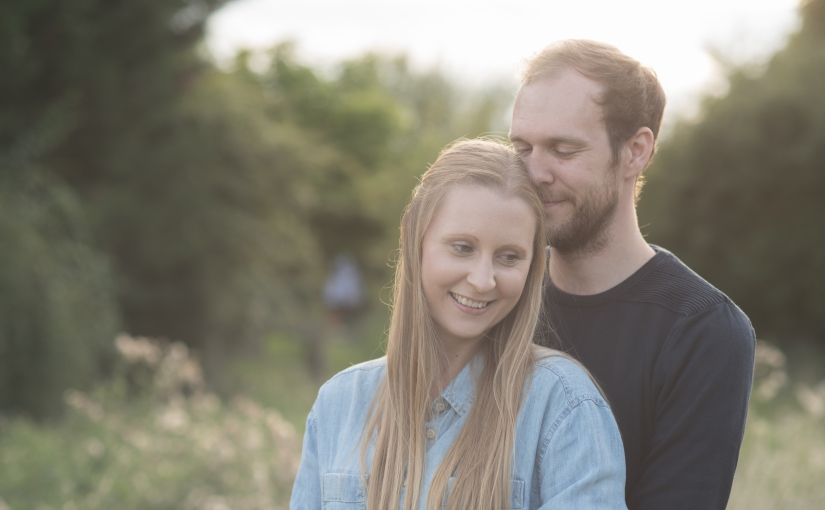 A hidden gem and a sparkly couple … Juliette and Sam's pre-wedding photoshoot