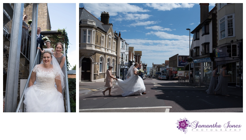Nikola and Joshua married at Queens Street Baptist Church with their reception at The Botany Bay by Samantha Jones Photography 03