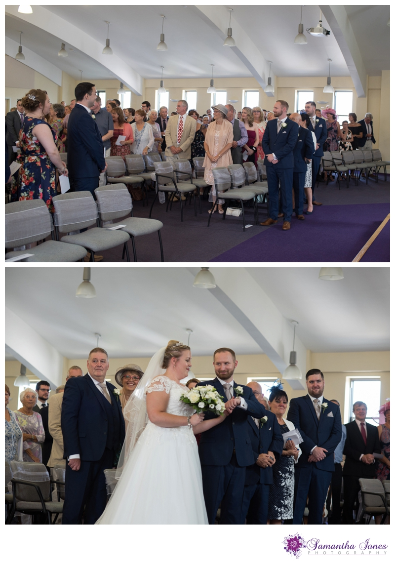 Nikola and Joshua married at Queens Street Baptist Church with their reception at The Botany Bay by Samantha Jones Photography 04