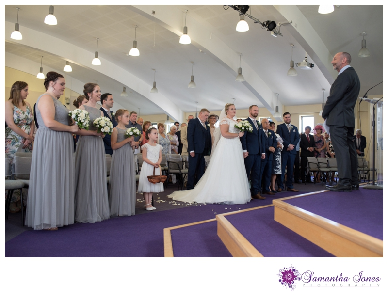 Nikola and Joshua married at Queens Street Baptist Church with their reception at The Botany Bay by Samantha Jones Photography 05