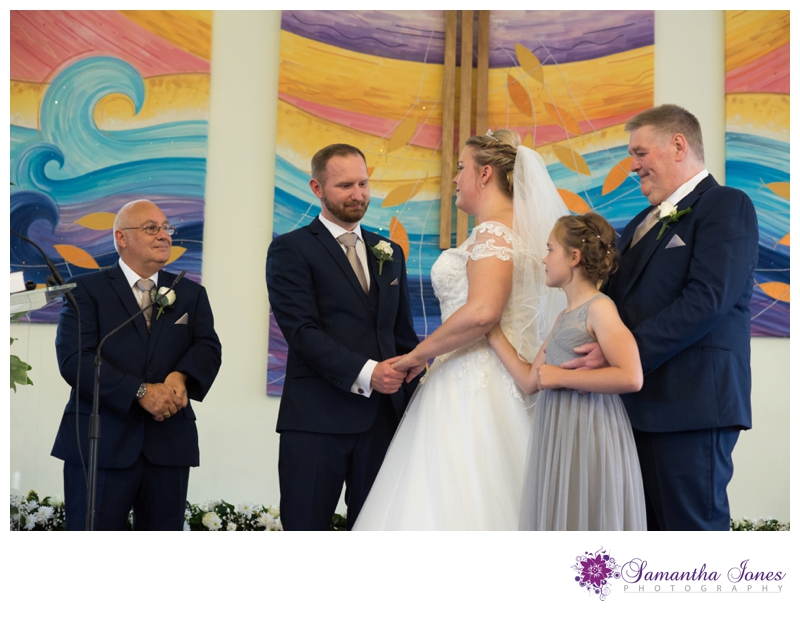 Nikola and Joshua married at Queens Street Baptist Church with their reception at The Botany Bay by Samantha Jones Photography 06