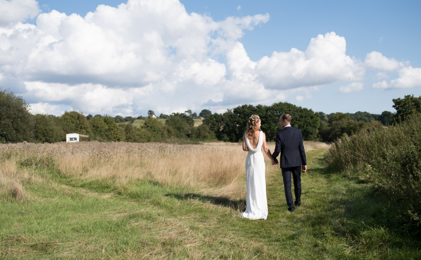 Juliette and Sam … their gentle countryside wedding at Elvey Farm {sneak peek}