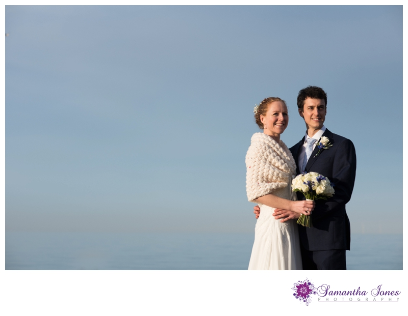 Ellie and Andrew wedding reception at The East Quay in Whitstable by Samantha Jones Photography