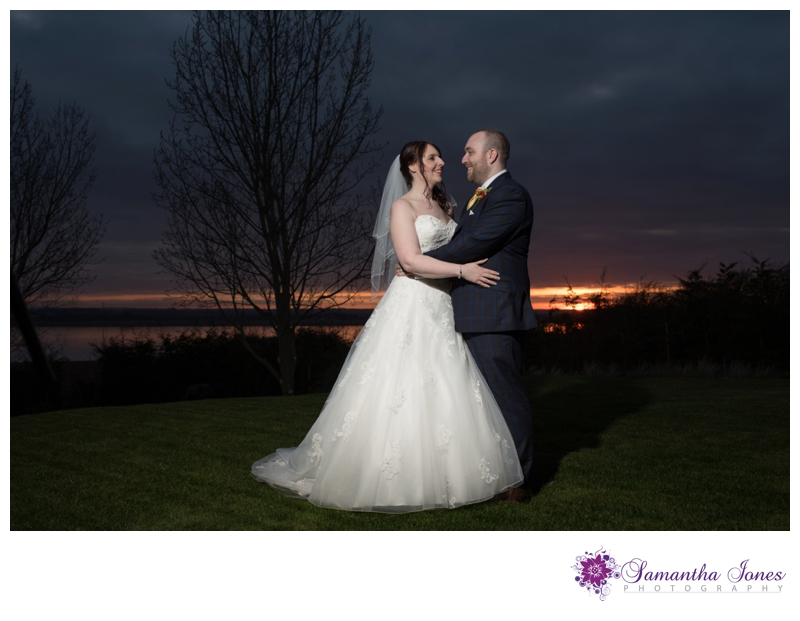 Kerry and Andrew married at The Ferry House Inn by Samantha Jones Photography