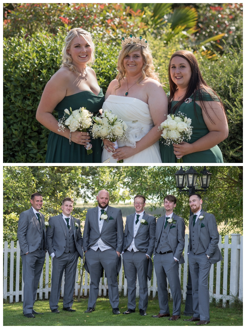 Kent wedding photographer Kirstie and Chris at Stonelees Golf Centre 01